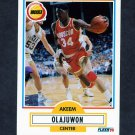 1990-91 Fleer Basketball #073 Hakeem Olajuwon - Houston Rockets