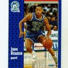 1991-92 Fleer Tony's Pizza Basketball #S-36 Jerome Pooh Richardson - Minnesota Timberwolves