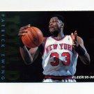1995-96 Fleer Total D Basketball #02 Patrick Ewing - New York Knicks