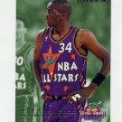1995-96 Fleer All-Stars Basketball #07 Tyrone Hill / Karl Malone