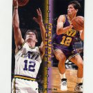 1995-96 Fleer Double Doubles Basketball #12 John Stockton - Utah Jazz