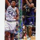1995-96 Fleer Double Doubles Basketball #05 Popeye Jones - Dallas Mavericks
