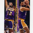 1995-96 Fleer Double Doubles Basketball #02 Vlade Divac - Los Angeles Lakers