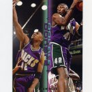 1995-96 Fleer Double Doubles Basketball #01 Vin Baker - Milwaukee Bucks