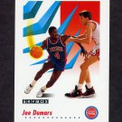 1991-92 Skybox Basketball #081 Joe Dumars - Detroit Pistons