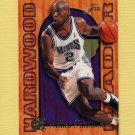 1995-96 Fleer Flair Hardwood Leaders Basketball #23 Mitch Richmond - Sacramento Kings
