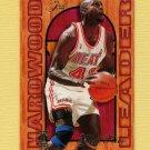 1995-96 Fleer Flair Hardwood Leaders Basketball #14 Glen Rice - Miami Heat