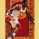 1995-96 Fleer Flair Hardwood Leaders Basketball #10 Hakeem Olajuwon - Houston Rockets