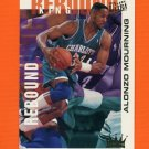 1994-95 Ultra Basketball Rebound Kings #03 Alonzo Mourning - Charlotte Hornets