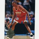 1994-95 Ultra Basketball #308 Derrick Alston RC - Philadelphia 76ers