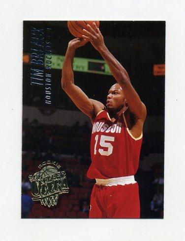1994-95 Ultra Basketball #253 Tim Breaux - Houston Rockets