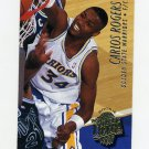 1994-95 Ultra Basketball #249 Carlos Rogers RC - Golden State Warriors