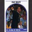 1989-90 Hoops Basketball #108 Pat Riley CO - Los Angeles Lakers
