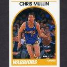 1989-90 Hoops Basketball #090 Chris Mullin - Golden State Warriors