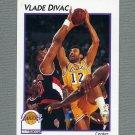 1991-92 Hoops McDonald's Basketball #20 Vlade Divac - Los Angeles Lakers