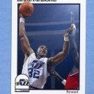 1991-92 Hoops Basketball #211 Karl Malone - Utah Jazz