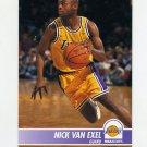 1994-95 Hoops Basketball #105 Nick Van Exel - Los Angeles Lakers