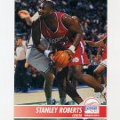 1994-95 Hoops Basketball #095 Stanley Roberts - Los Angeles Clippers