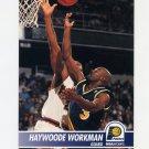 1994-95 Hoops Basketball #089 Haywoode Workman - Indiana Pacers
