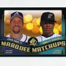 2008 SP Authentic Baseball Marquee Matchups #MM48 John Smoltz / Hanley Ramirez