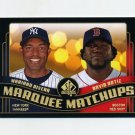 2008 SP Authentic Baseball Marquee Matchups #MM09 Mariano Rivera / David Ortiz