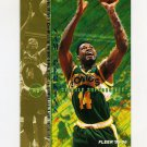 1995-96 Fleer Basketball #181 Sam Perkins - Seattle Supersonics