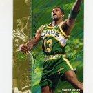 1995-96 Fleer Basketball #176 Kendall Gill - Seattle Supersonics
