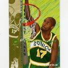 1995-96 Fleer Basketball #175 Vincent Askew - Seattle Supersonics
