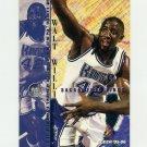 1995-96 Fleer Basketball #165 Walt Williams - Sacramento Kings