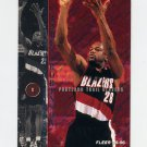 1995-96 Fleer Basketball #155 James Robinson - Portland Trail Blazers