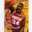 1995-96 Fleer Basketball #071 Hakeem Olajuwon - Houston Rockets
