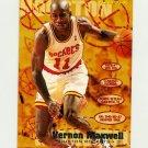 1995-96 Fleer Basketball #070 Vernon Maxwell - Houston Rockets
