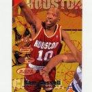 1995-96 Fleer Basketball #065 Sam Cassell - Houston Rockets