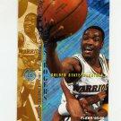 1995-96 Fleer Basketball #061 Carlos Rogers - Golden State Warriors