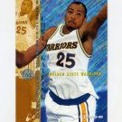 1995-96 Fleer Basketball #057 Chris Gatling - Golden State Warriors