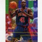 1995-96 Fleer Basketball #056 Mark West - Detroit Pistons