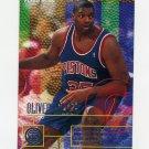 1995-96 Fleer Basketball #054 Oliver Miller - Detroit Pistons