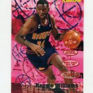 1995-96 Fleer Basketball #049 Reggie Williams - Denver Nuggets