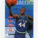 1995-96 Fleer Basketball #040 Lorenzo Williams - Dallas Mavericks