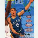 1995-96 Fleer Basketball #036 Jason Kidd - Dallas Mavericks