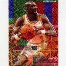 1995-96 Fleer Basketball #001 Stacey Augmon - Atlanta Hawks