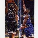 1995-96 Fleer Double Doubles Basketball #10 Shaquille O'Neal - Orlando Magic