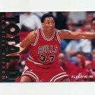 1995-96 Fleer Total D Basketball #09 Scottie Pippen - Chicago Bulls