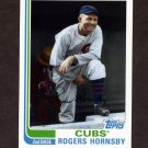 2010 Topps Baseball Vintage Legends Collection #VLC46 Rogers Hornsby - Chicago Cubs