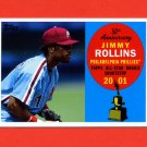 2008 Topps 50th Anniversary Baseball All Rookie Team #AR29 Jimmy Rollins - Philadelphia Phillies