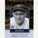 2008 Upper Deck Yankee Stadium Legacy Collection #0164 Earle Combs - New York Yankees