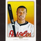 2010 Topps 206 Baseball #196 Adam Jones - Baltimore Orioles