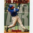 1999 Topps Baseball #461AR Sammy Sosa HR43 - Chicago Cubs