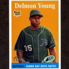 2007 Topps Heritage Baseball #047 Delmon Young RC - Tampa Bay Devil Rays