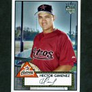 2007 Topps 52 Baseball #121 Hector Gimenez RC - Houston Astros